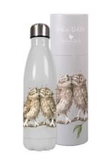 Wrendale Designs Water Bottle - Owl 500ml / 17oz