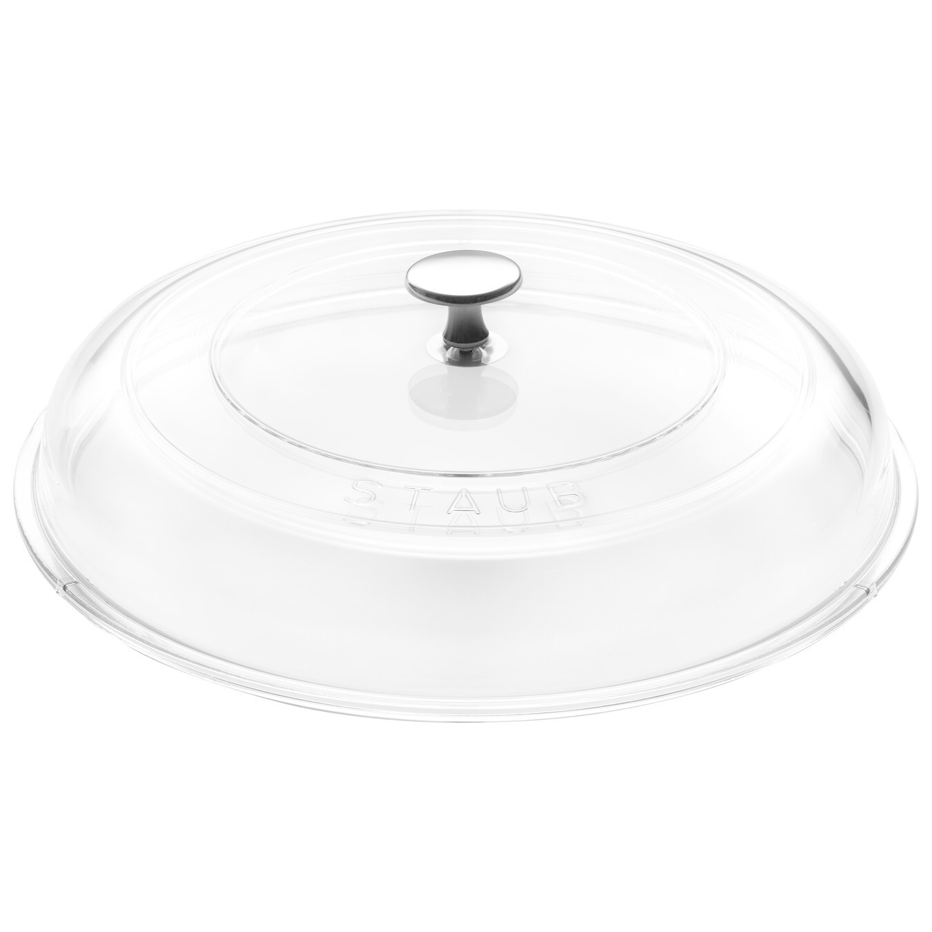 "Staub Domed Round Glass Lid  - 28cm / 11"""
