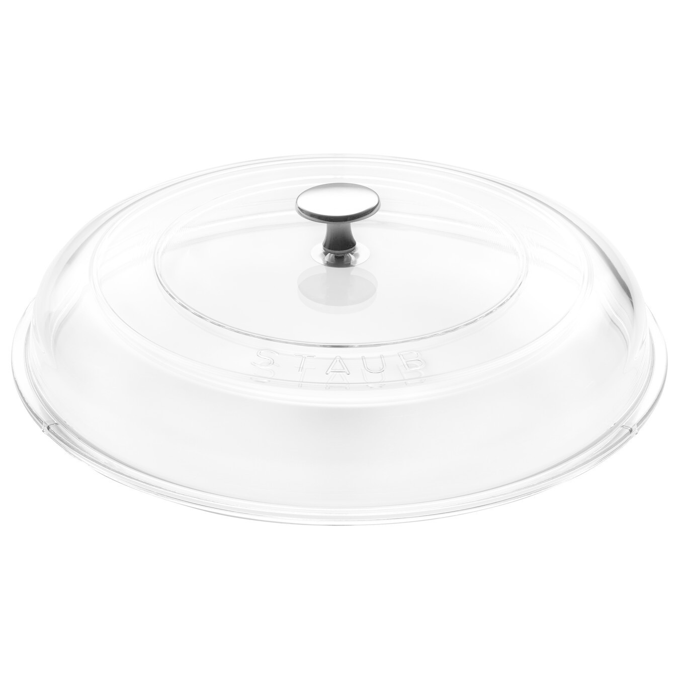 "Staub Domed Round Glass Lid  - 24 cm / 9.5"""
