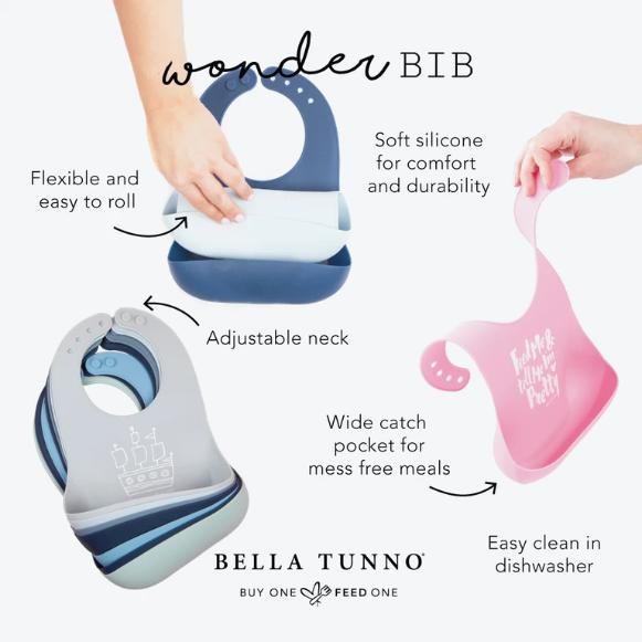 Bella Tunno Kung Fu Fighting Wonder Bib