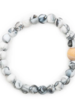 Bella Tunno Bradley Marble Theething Bracelet