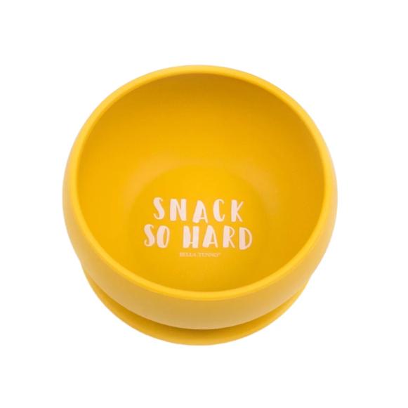 Bella Tunno Snack So Hard Suction Bowl