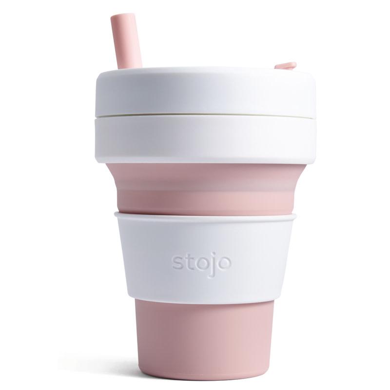 Stojo Stojo Biggie Cup 16oz - Pink
