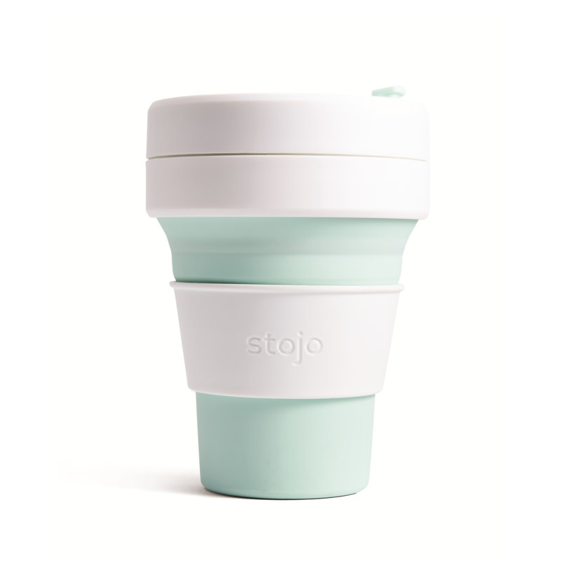 Stojo Stojo Pocket Cup 12oz - Mint