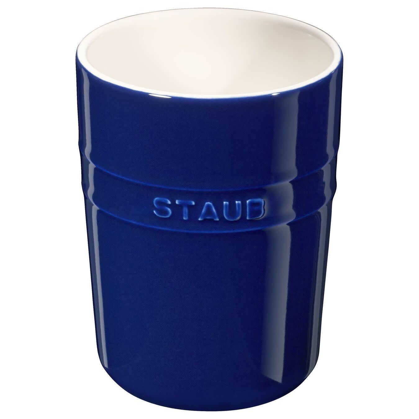 """Staub Utensil Holder Blue 15cm/6"""""""