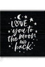 Pinetree Innovations Magnet - Moon & Back