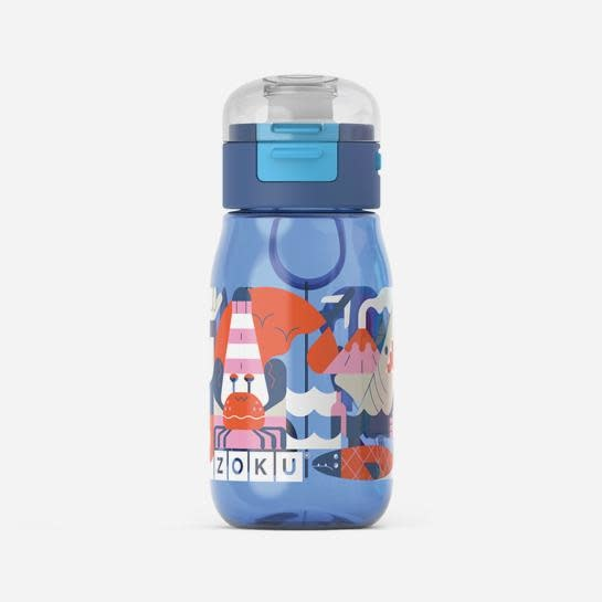 Kids Flip Gulp - Blue Sea Friends - 475ml/16oz