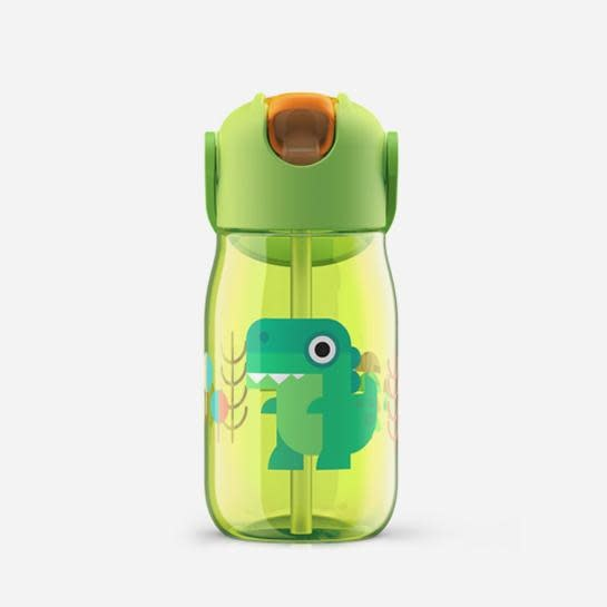 Kid Flip Straw  - Green - 400ml/14oz