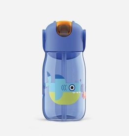 Kid Flip Straw - Blue - 400ml/14oz