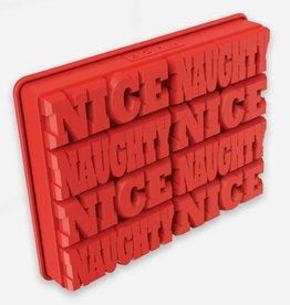 Naughty or Nice Ice Molds