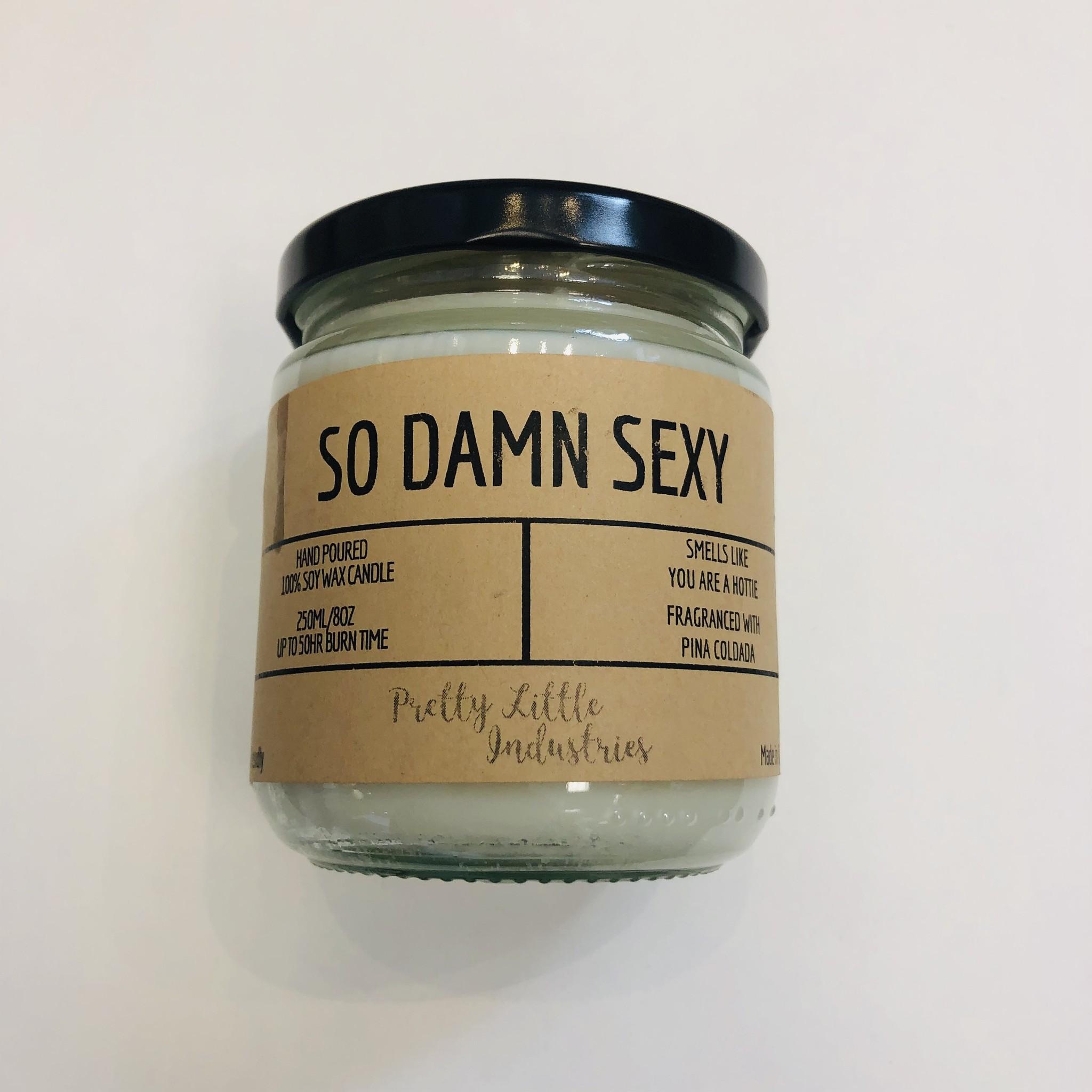 So Damn Sexy - Soy  Candle
