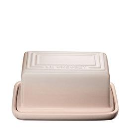 Le Creuset Butter Dish 454gm / 1lb - Meringue