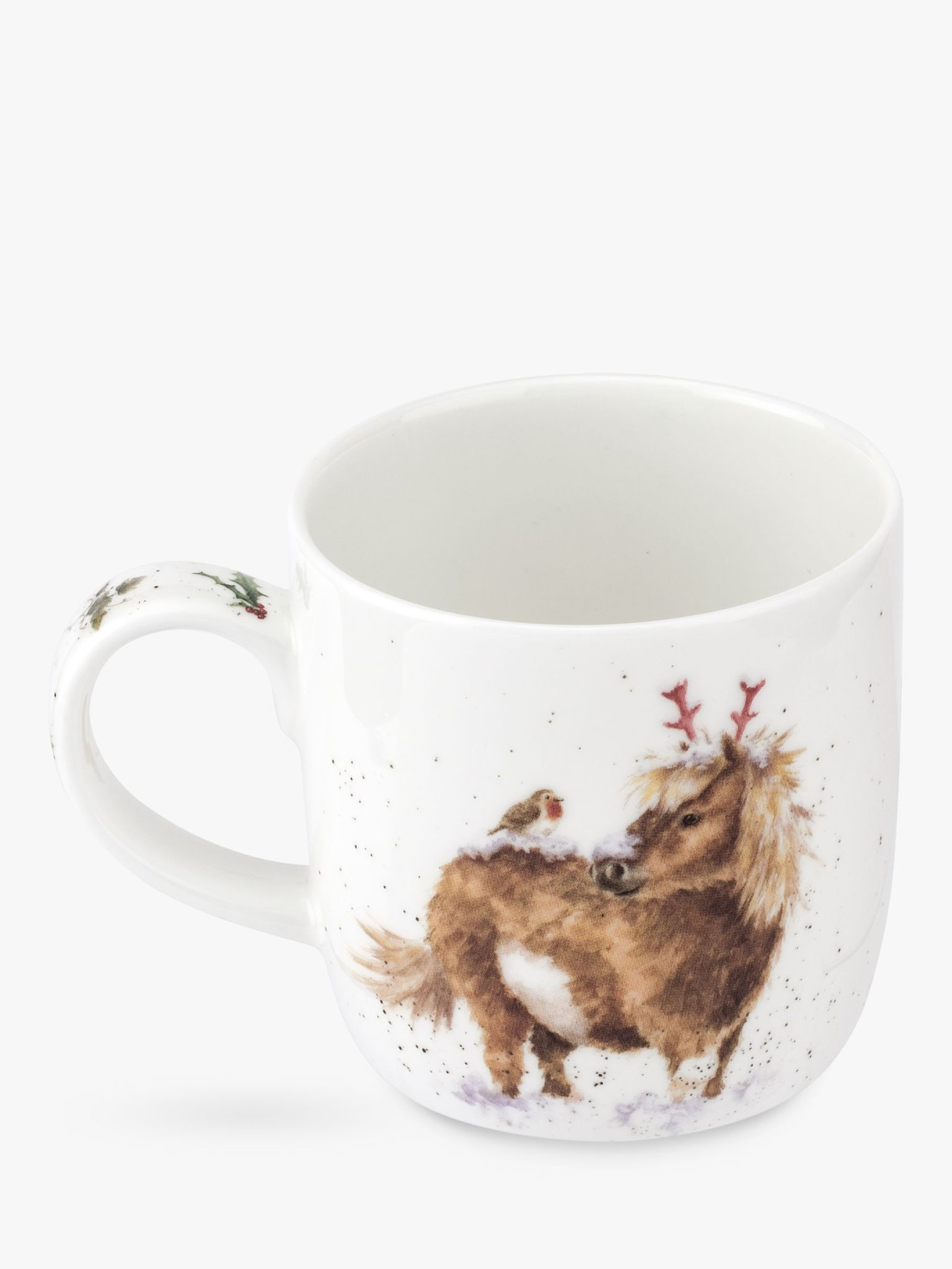 Wrendale Designs Mug 11oz - One Horse Open Sleigh