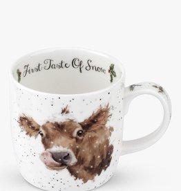 Wrendale Designs 'First Taste Of Snow' Mug