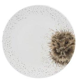 """Wrendale Designs Coupe Platter 12.5"""" Hedgehog"""