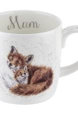 Wrendale Designs 14oz Mug - Mum (Fox)