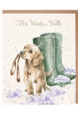 Wrendale Designs The Winter Walk - Card