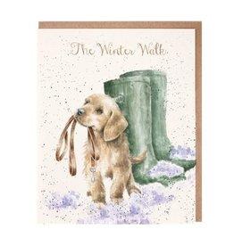Wrendale Designs The Winter Walk - Card