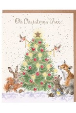 Wrendale Designs Oh Christmas Tree - Card