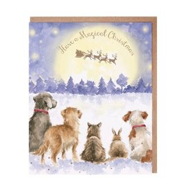 Wrendale Designs A Magical Christmas - Card