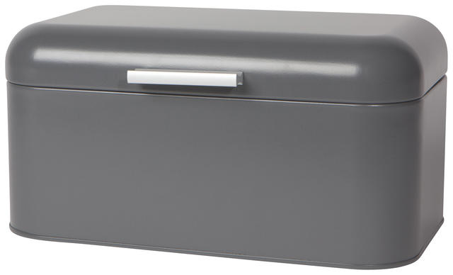 Now Designs Bread Bin - Small Matte Charcoal