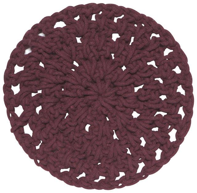"Trivet 23cm / 9""-Knot Heirloom - Wine"