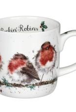 Wrendale Designs Mug 11oz - Rockin' Robins