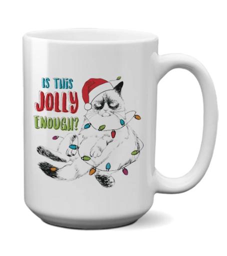 Pinetree Innovations Coffee Mug - Is This Jolly Enough 15oz