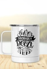 Pinetree Innovations Insulated Mug - There May Be Booze