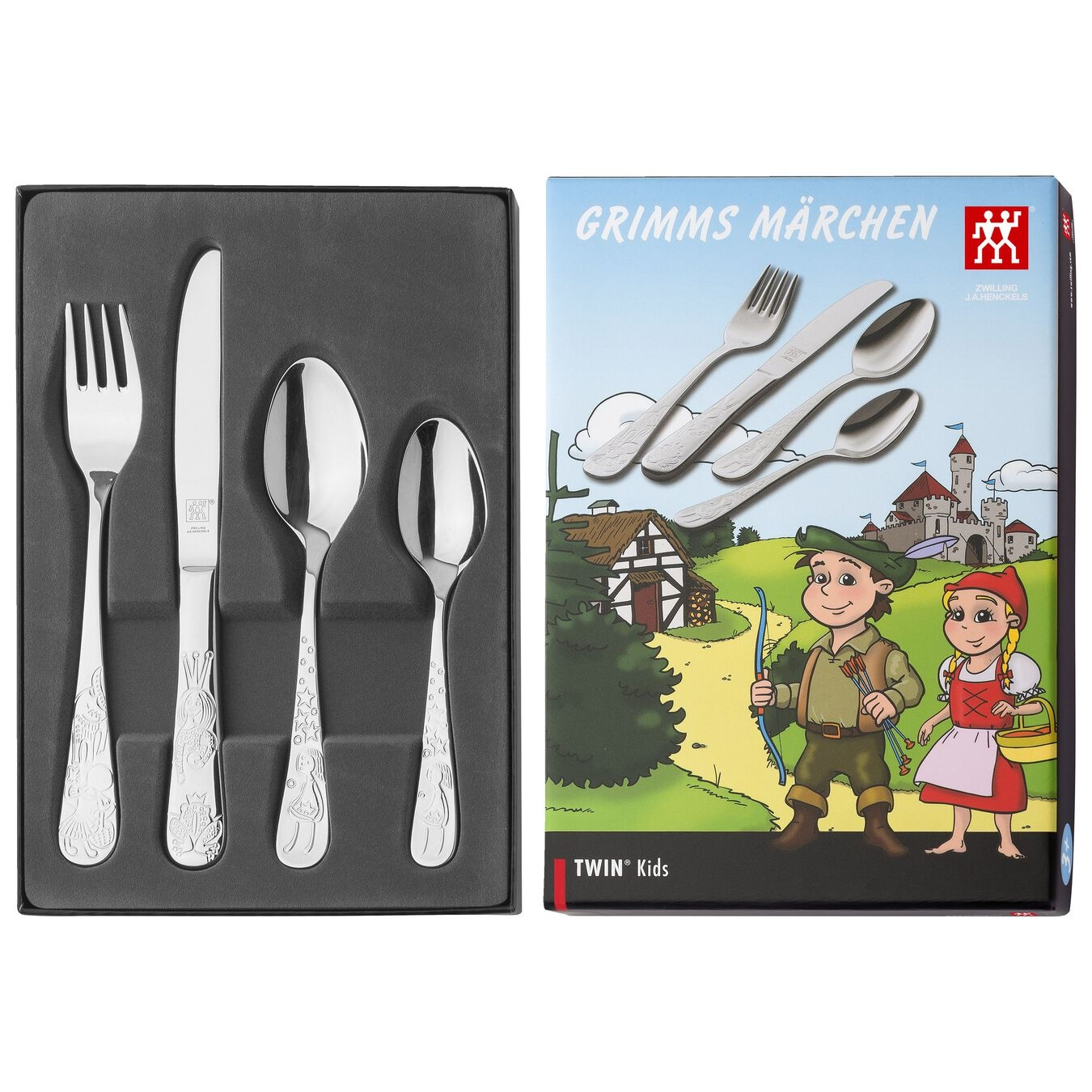 Zwilling J.A. Henckels 4pc Children's Set - Grimm's Fairy Tale