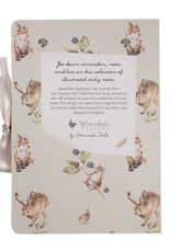 Wrendale Designs Sticky Note Book - 'Country Set'