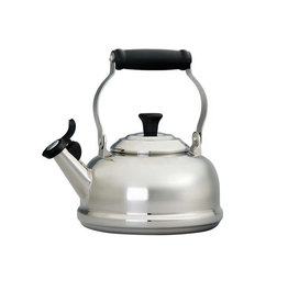 Le Creuset 1.6L Whistling Kettle - Stainless Steel Induction