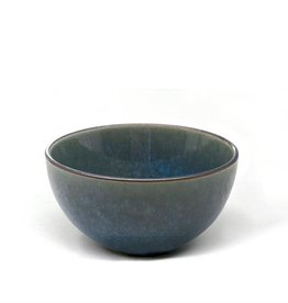 "5.75"" Reactive Glazed Bowl - Green"