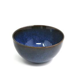 "5.75"" Reactive Glazed Bowl  - Navy Blue"