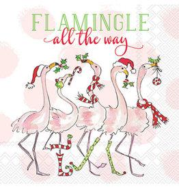Flamingle all the way - Cocktail Napkins