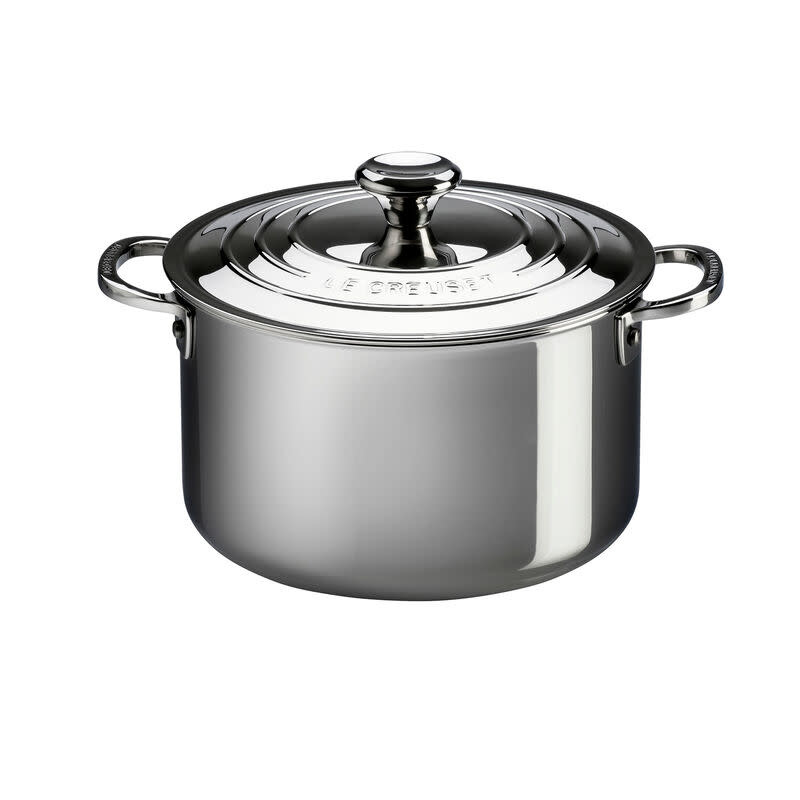 Le Creuset Stockpot w/Lid - Stainless Steel 10.4L