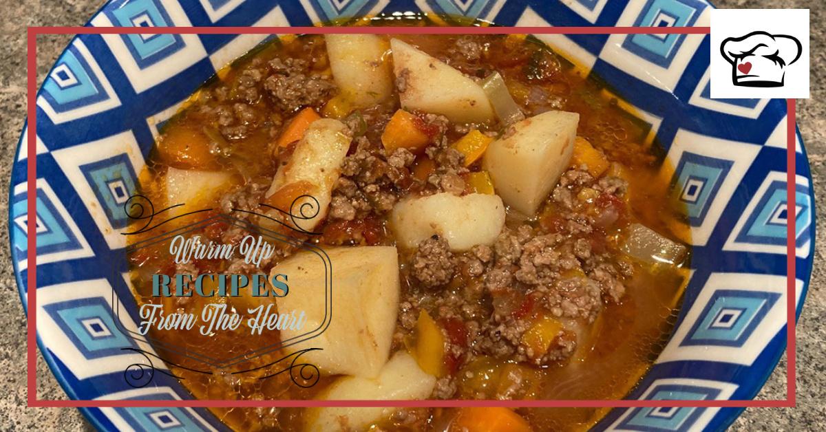 Warm Up Recipe - The Pioneer Woman Hamburger Soup