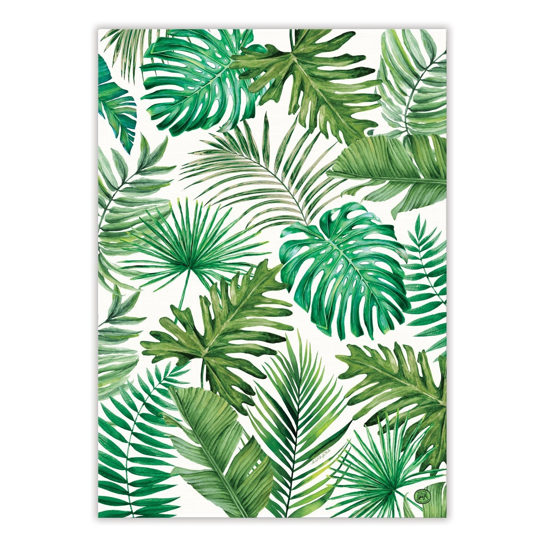 Palm Breeze Kitchen Towel