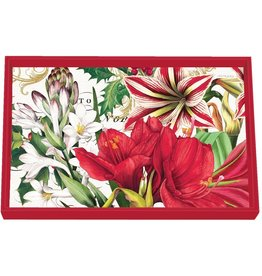 Merry Christmas Vanity Decoupage Tray - Wooden