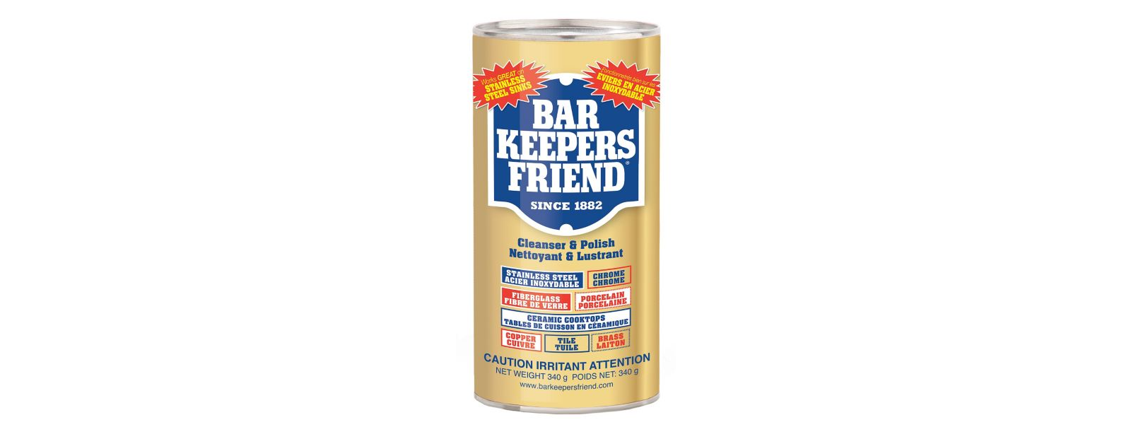 Bar Keeper Friend Powder Cleanser -  340g / 12oz