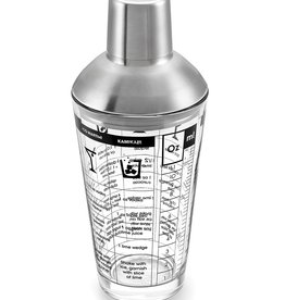 Glass & Stainless-Steel Cocktail Shaker