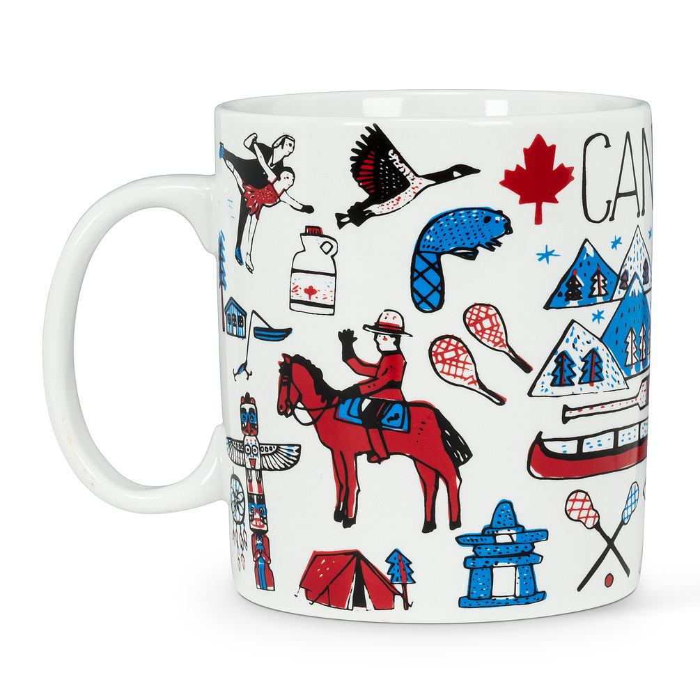 Canada Jumbo Mug