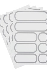 OXO POP Removable Labels