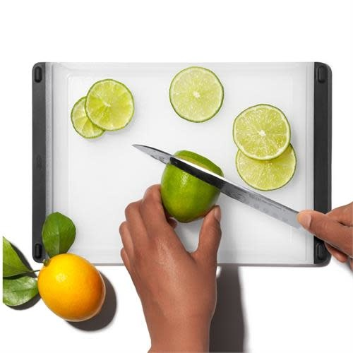 "OXO GG Prep  Cutting Board - 7.3""x10.9"" - White  28x18cm / 7.3""x10.9"""