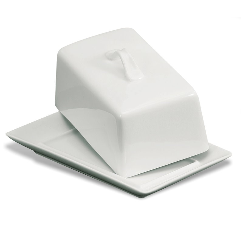 Rectangle Covered Butter Dish