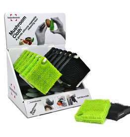 Fusionbrands Mushroom Cloth - Black Silicone