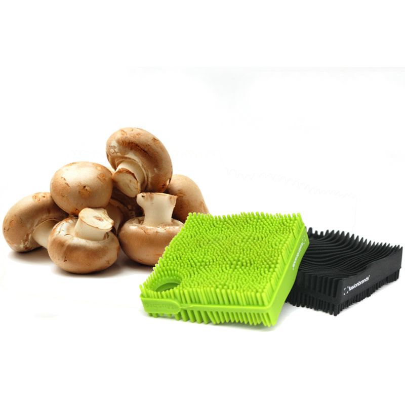 Fusionbrands Mushroom Cloth - Green Silicone