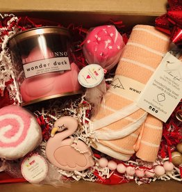 Curated Gift Box - Baby Girl (Flamingo)