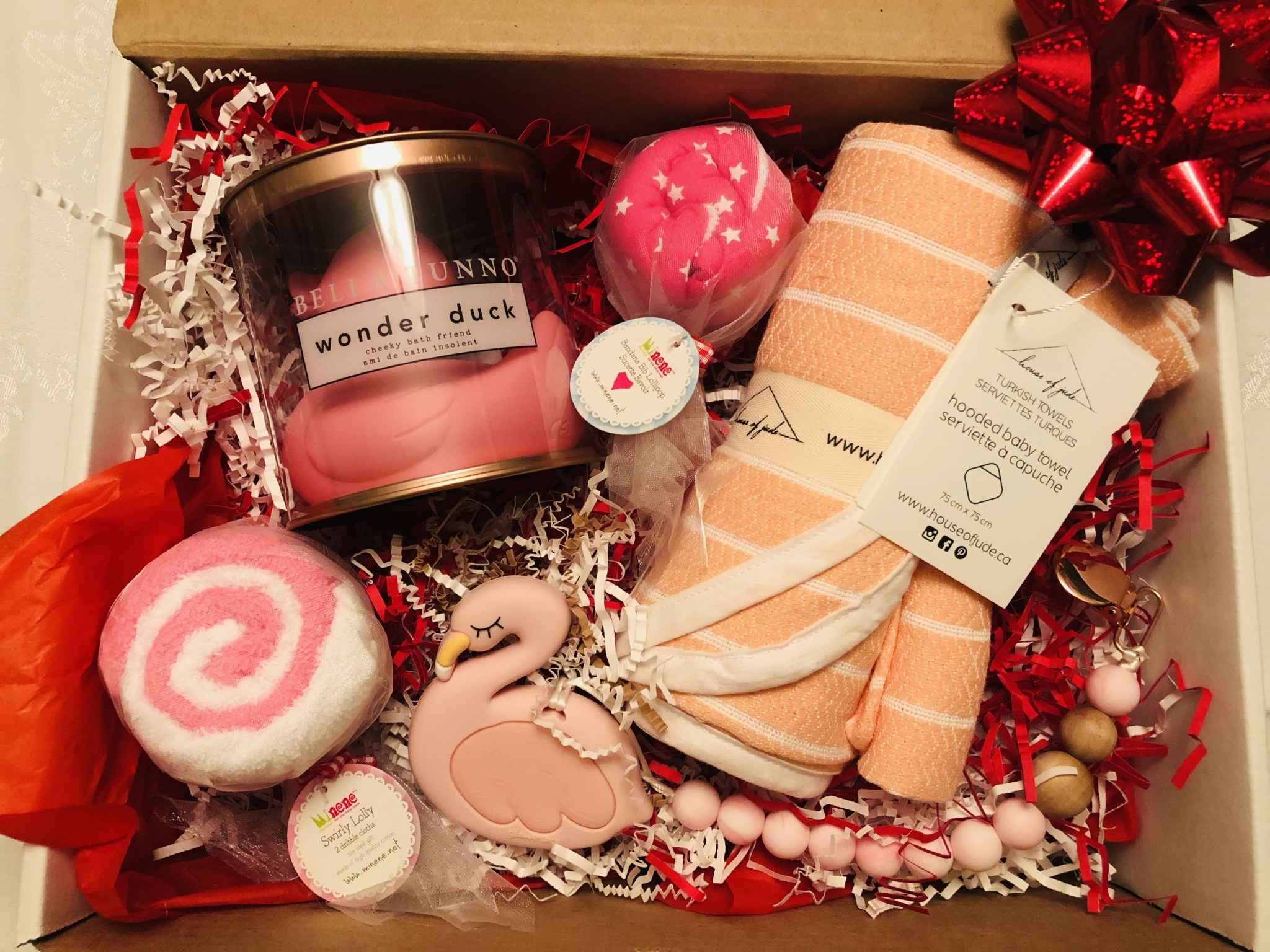 Curated Gift Box - Baby Girl (Flamingo)