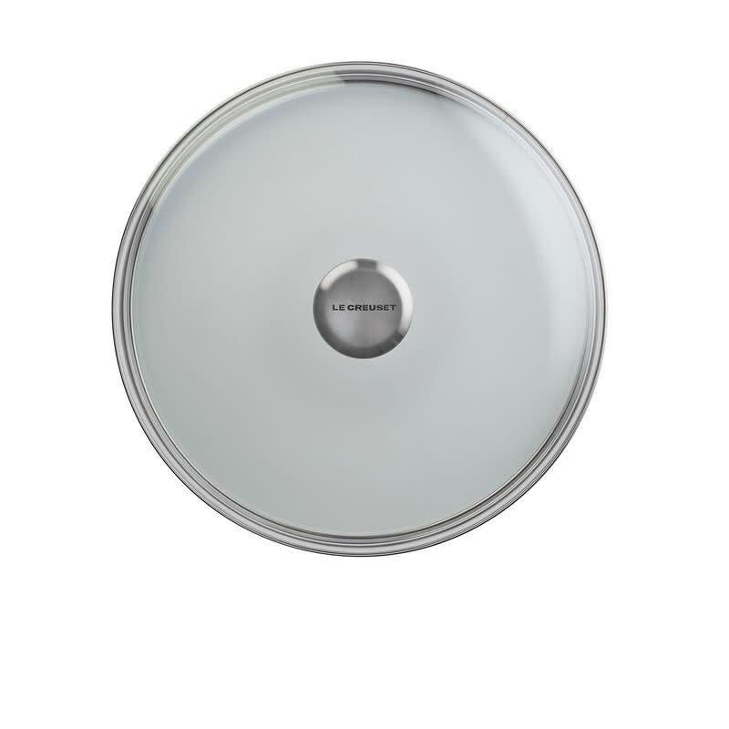 """Le Creuset Glass Lid w/ S.S. Knob -  26cm / 10"""""""